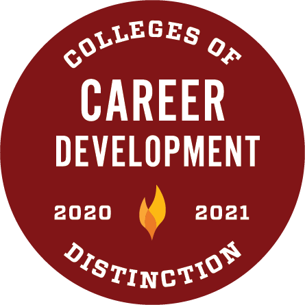 Colleges of Distinction: career development 2020-2021