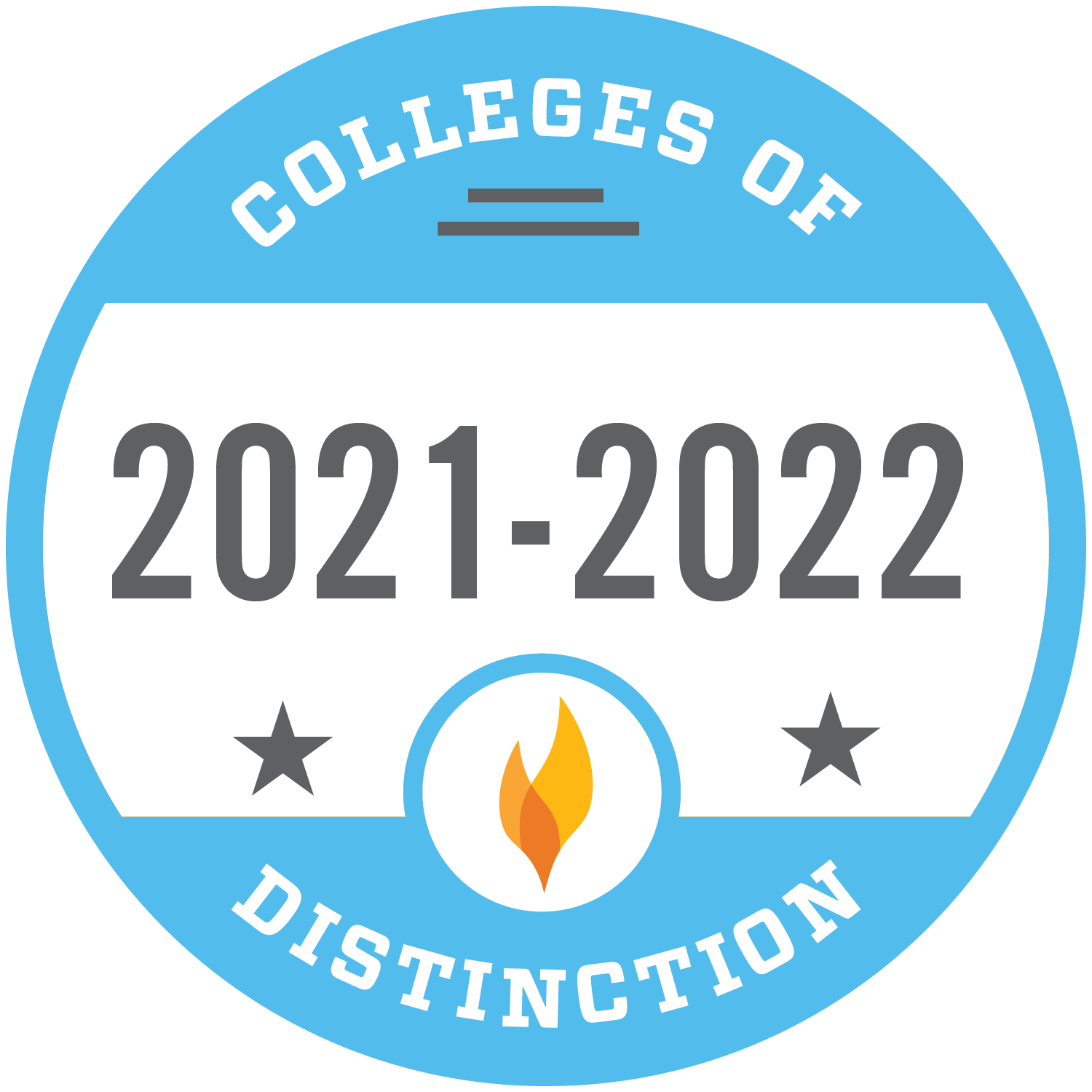 2021-2022 Colleges of Distinction