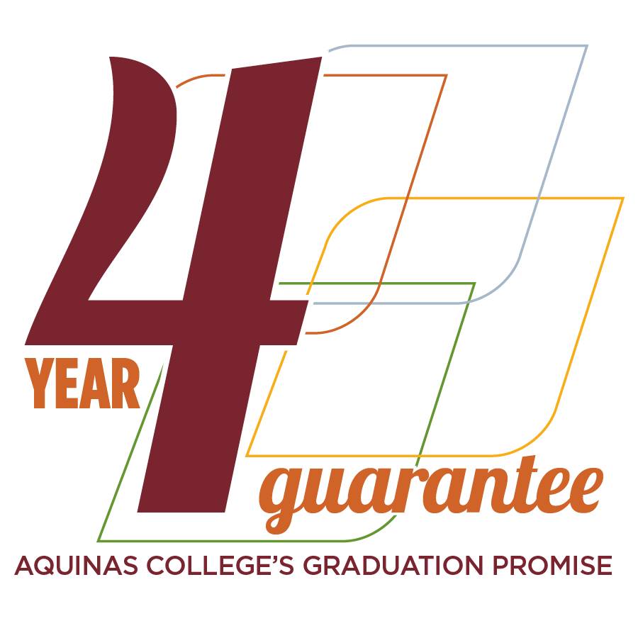 four year guarantee logo