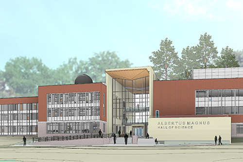 New Science Building drawings