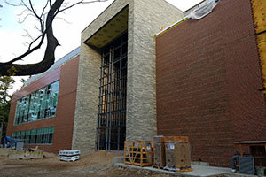 Construction of Sister Aquinas Weber Wing
