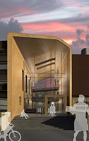 Rendering of science building