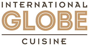 """International Globe Cuisine"" logo"