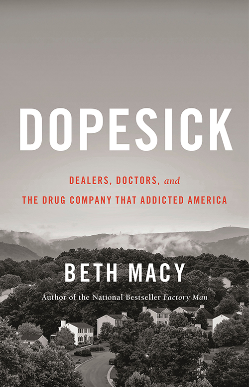 cover of book Dopesick