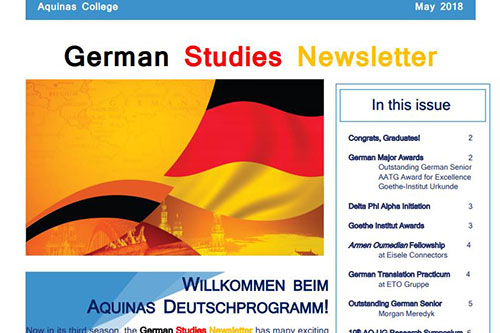 German newsletter