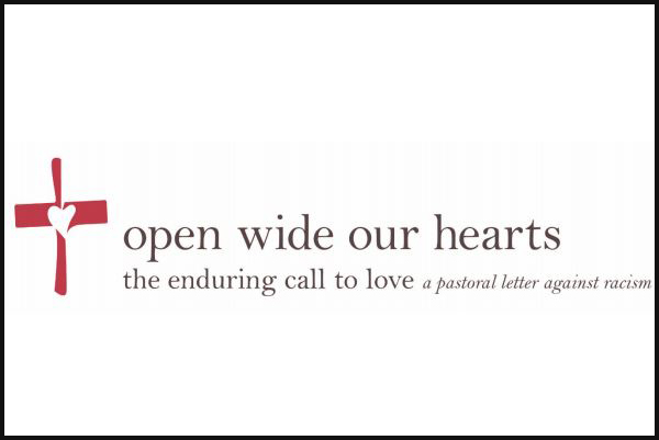 """Open wide our hearts"""