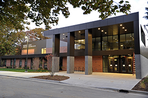 Sturrus Sports & Fitness Center and Alksnis Athletics and Recreation Building Entrance