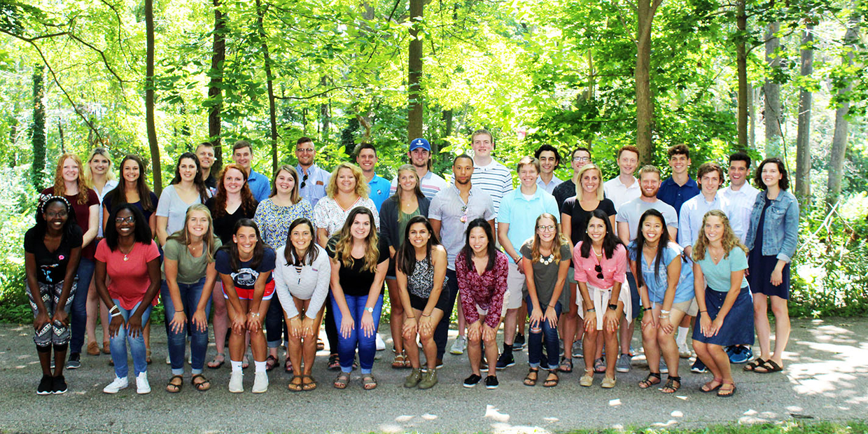 student ambassador group photo