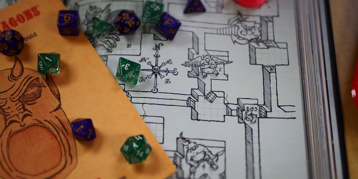 dungeons and dragons pieces