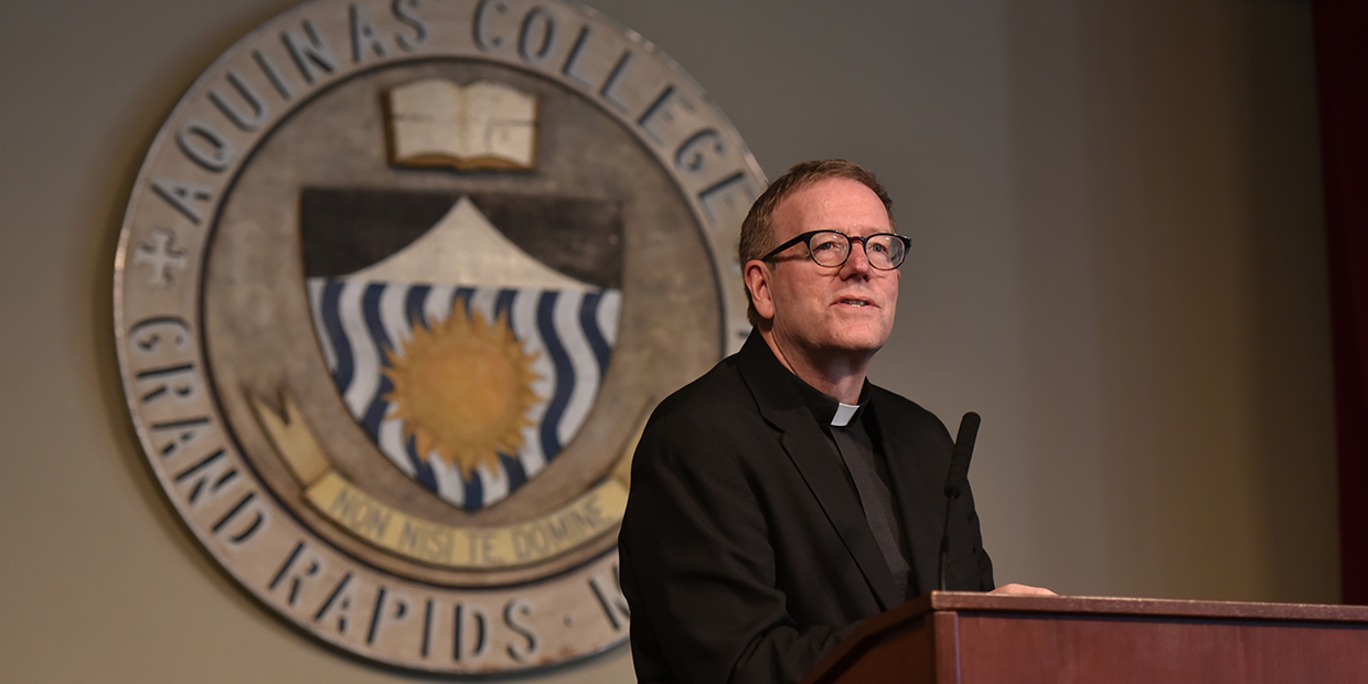 Bishop Robert Barron at the Catholic Studies Lecture Series