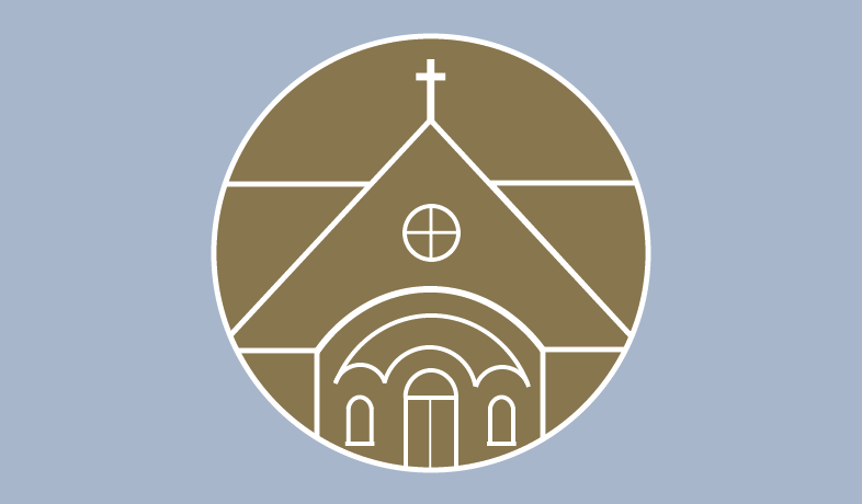 Graphic of chapel