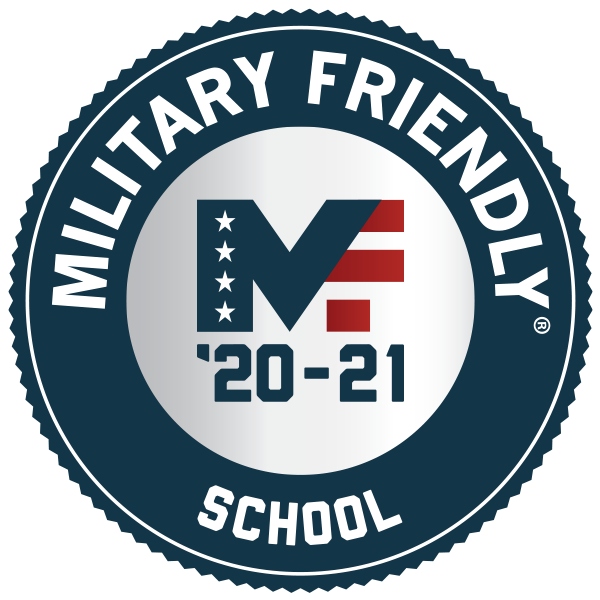 """Military Freidnly MF '19-20 Award School"""